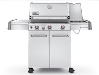 #2 rated in best propane: Weber Genesis S-330 Stainless-Steel 637-Square-Inch Grill, scored 99/100