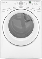 #1 rated in for busy families: Whirlpool Duet 7.4 Cu. Ft. 6-Cycle Electric Dryer, scored 92/100
