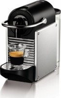 #3 rated in space efficient: Nespresso Pixie Espresso Maker, Aluminum, scored 88/100