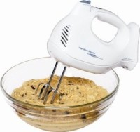 #2 rated in hamilton beach: Hamilton Beach 6 Speed Hand Mixer, scored 69/100