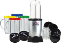 #2 rated in easy to use: As Seen On TV Magic Bullet Express 17-Piece Blender Set, scored 89/100