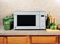 #1 rated in best: GE 1.1 Cu. Ft. Countertop Microwave Oven, scored 100/100