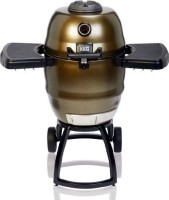 #1 rated in fuel efficient: Broil King Steel Keg BKK4000 Charcoal Grill, scored 100/100