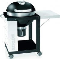 #3 rated in napoleon: Napoleon Cart Style Charcoal Kettle Grill with Folding Side Shelf, scored 85/100