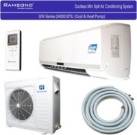 #4 rated in easy to assemble: Ramsond 24,000 BTU 2 Ton Ductless Mini Split Air Conditioner & Heat Pump, scored 95/100