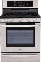 #1 rated in 5 burner gas: LG Freestanding Gas Convection Range, scored 90/100