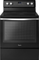 #1 rated in electric: Whirlpool Freestanding Electric Convection Range, scored 100/100