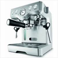 #2 rated in stylish: Breville BES830XL Die-Cast Programmable Espresso Machine, scored 91/100