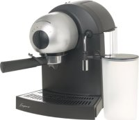 #3 rated in capresso: Capresso 112.04 EspressoPRO Stainless Steel ThermoBlock Espresso Machine, scored 87/100
