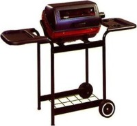 #4 rated in easy to clean: Meco 9359W Deluxe Electric Cart Grill with Rotisserie, scored 96/100