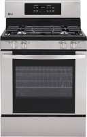 #4 rated in 4 burner gas: LG Freestanding Gas Range, scored 82/100
