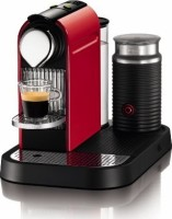 #1 rated in space efficient: Nespresso C120  CitiZ Automatic Espresso Machine with Milk Frother, scored 89/100