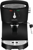 #3 rated in best value: KRUPS XP3200 Opio Pump Boiler Espresso Machine with Milk Frothing Nozzle for Cappuccino, scored 88/100