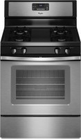 #5 rated in gas vs. electric: Whirlpool Freestanding Gas Range, scored 92/100