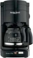 #1 rated in 4-cup: Hamilton Beach 4-Cup Coffee Brewer HDC500B, scored 86/100