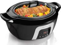 #1 rated in hamilton beach: Hamilton Beach 6-Quart Slow Cooker, scored 96/100