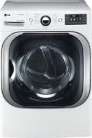 #5 rated in spacious: LG SteamDryer 9.0 Cu. Ft. Ultra-Large Capacity Steam Electric Dryer, scored 88/100