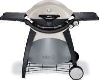 #4 rated in rust resistant: Weber 586002 Q320 Portable 21700-BTU Propane Gas Grill, scored 89/100