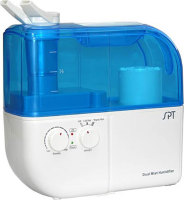 #3 rated in warm mist: Dual Mist Humidifier with ION Exchanger Filter, scored 87/100