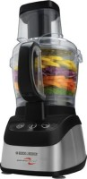 #1 rated in 10-cup: Black & Decker Power Pro 2-in-1 Food Processor and Blender (FP2620S), scored 89/100