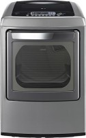 #3 rated in lg: LG DLGY1202V 7.3 Cu. Ft. Gas Front Load Dryer with Steam Cycle, scored 87/100