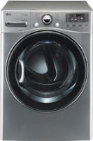 #4 rated in high speed: LG 7.3 cu. ft. Steam Electric Dryer w/ Sensor Dry - Graphite Steel, scored 88/100