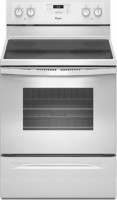 #2 rated in 4 burner electric: Whirlpool Freestanding Electric Range, scored 94/100