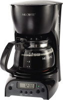 #3 rated in 4-cup: Mr. Coffee 4-Cup Programmable Coffee Maker, scored 82/100