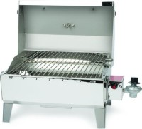 "#1 rated in easy to use: Camco Portable 20"" Gas Grill with 125 sq. in. Cooking Surface, scored 100/100"