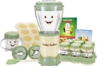 #2 rated in baby: Baby Bullet 20-Piece Complete Baby Food Making System, scored 87/100