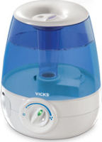 #1 rated in warm mist: Vicks Filter Free Humidifier, scored 93/100
