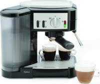#5 rated in inexpensive: Capresso 1050-Watt Pump Espresso and Cappuccino Machine, Black/Silver, scored 78/100
