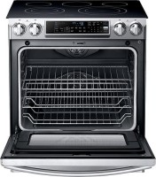 #2 rated in attractive: Samsung Slide-In Electric Convection Range, scored 91/100