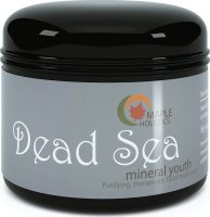 #4 rated in pores, claims vs reality: Maple Holistics Dead Sea Mud Mask for Women, Men & Teens, scored 83/100