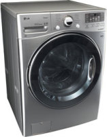 #1 rated in high end: LG 4.0 Cu. Ft. Ultra-Large-Capacity Steam Front-Load Washer, scored 98/100