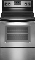 #3 rated in 4 burner electric: Whirlpool Freestanding Electric Convection Range, scored 87/100