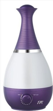 SPT SU-2550V Ultrasonic Humidifier with Fragrance Diffuser, Violet
