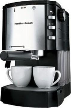 Hamilton Beach 40729 Espressocappuccino Maker With Pod Holder