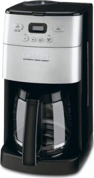 Cuisinart Dcc 1250sa Grind Brew 12 Cup Coffee Maker User
