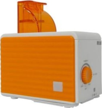 Ultrasounic Cool Mist Personal Humidifier - Orange and White