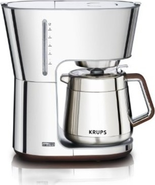 KRUPS Art Collection 10-Cup Thermal Coffee Maker