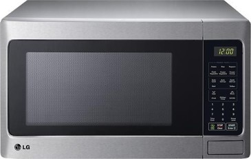 Lg 1 5 Cu Ft Mid Size Microwave Stainless Steel
