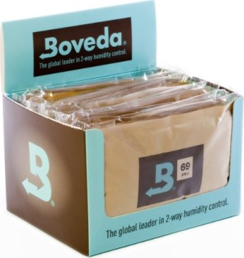 Boveda 72-Percent RH Retail Cube Humidifier/Dehumidifier, 60gm - Pack of 12
