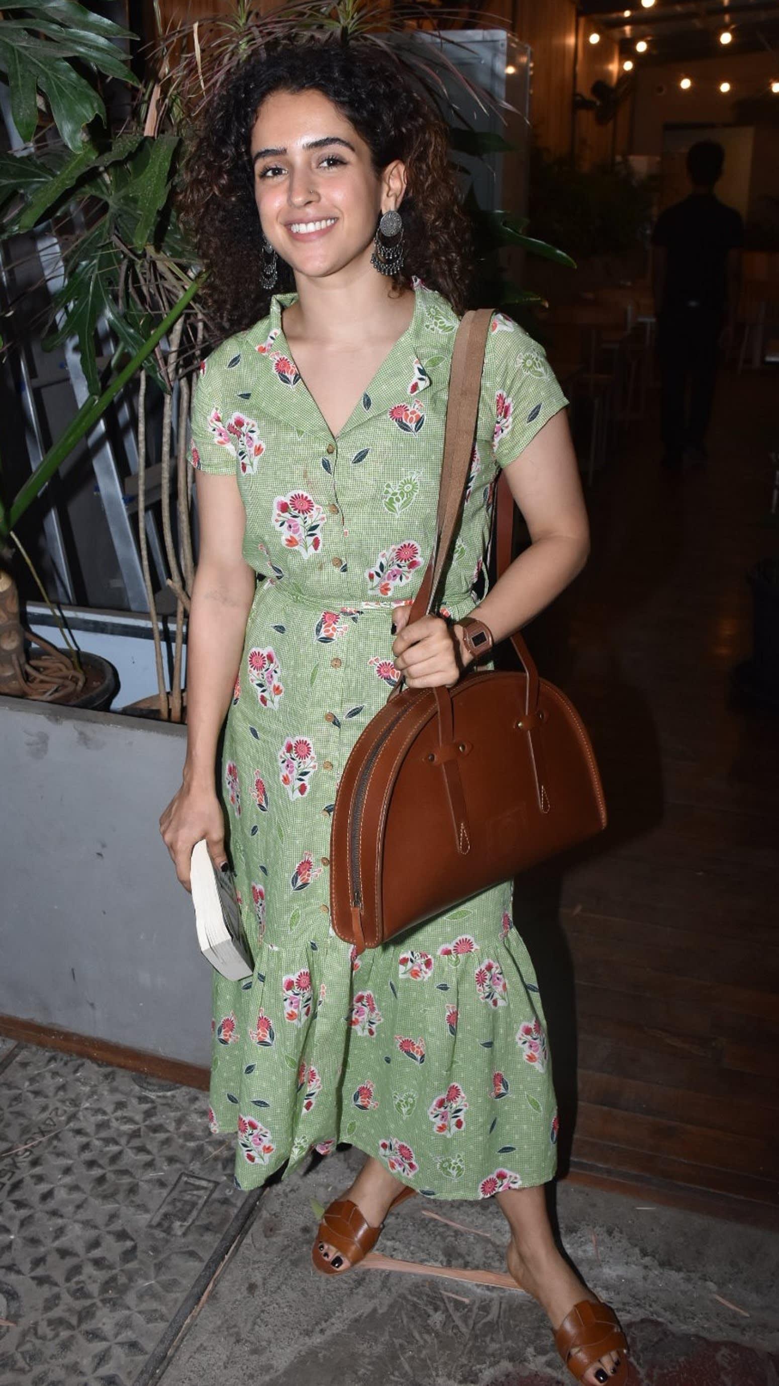 Sanya Malhotra in Global Desi