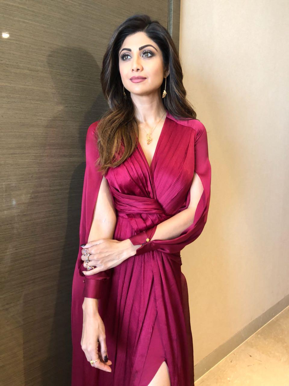 Shilpa Shetty wearing Lola by Suman B and Vinita Michael-2
