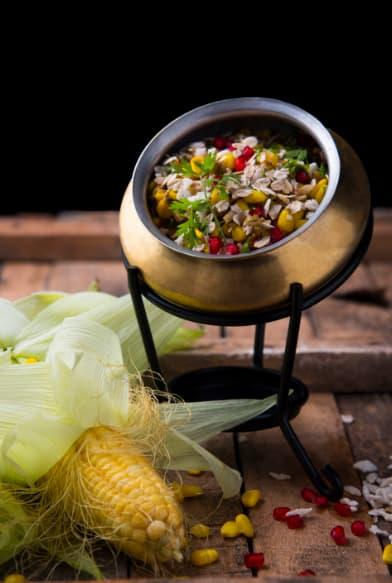 Masala oats chaat