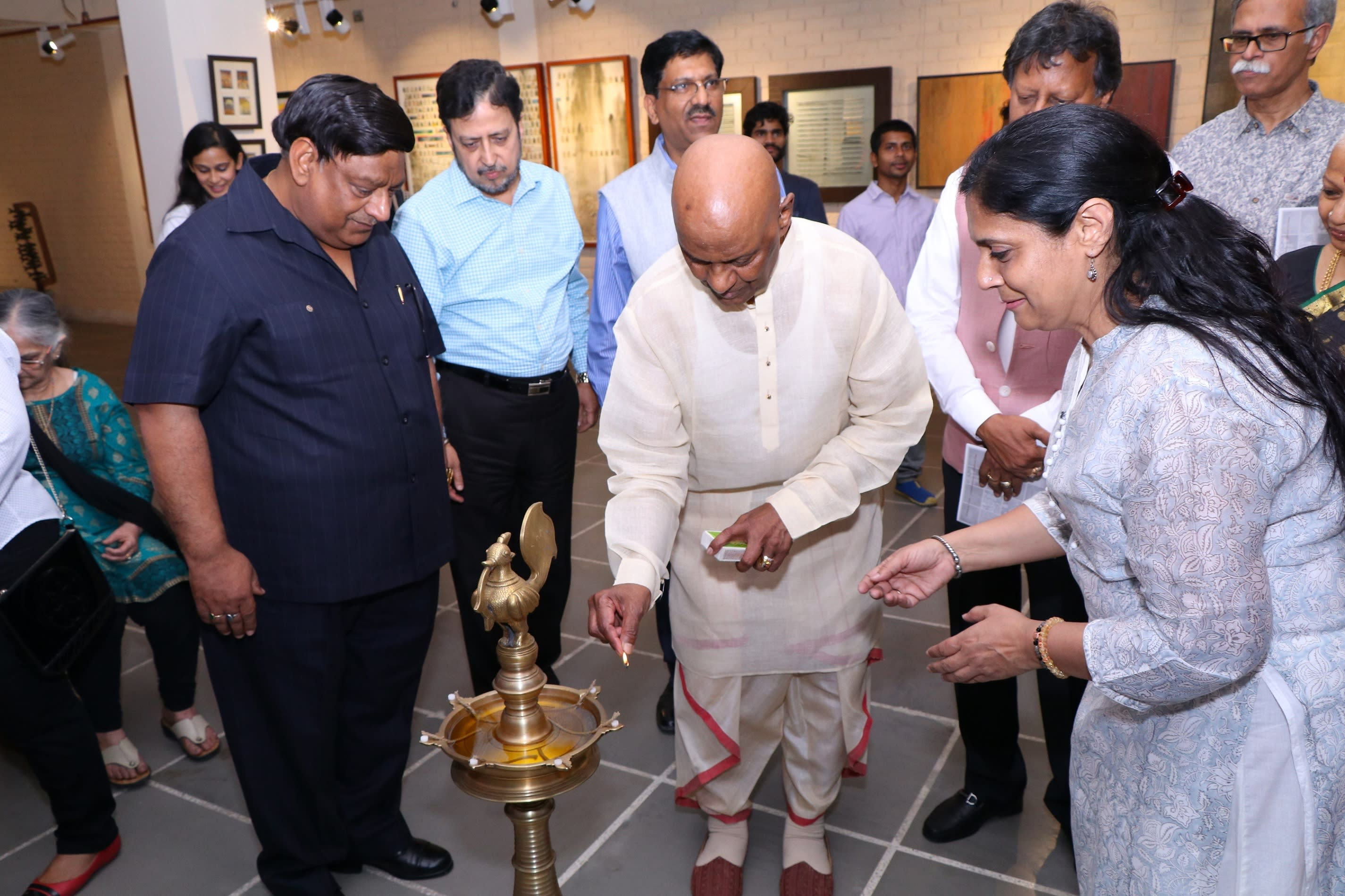 raja-reddy-while-lightening-the-lamp-for-opening-ceremony