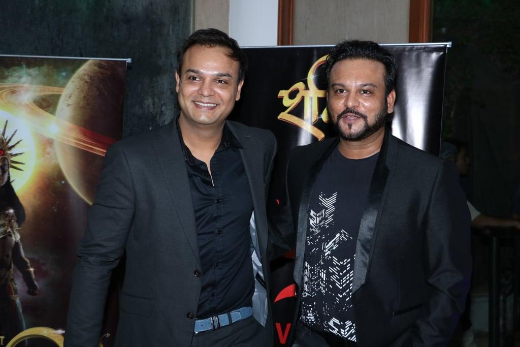 Hosts of the night : Siddharth Kumar Tewary & Rahul Kumar Tewary