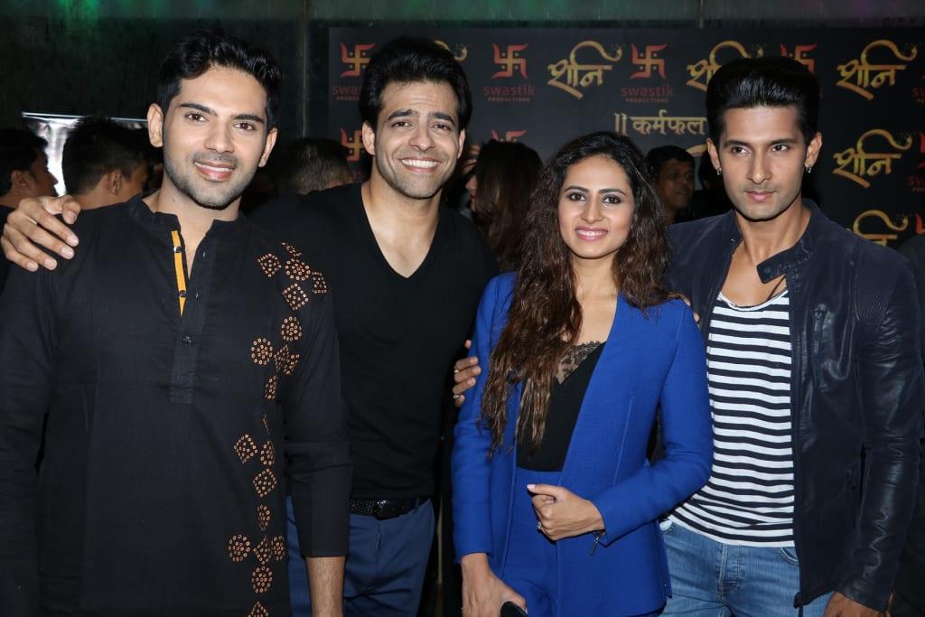 Ankit Bathla, Himmanshoo Malhotra, Sargun Mehta & Ravi Dubey