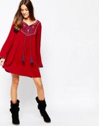 6. Red dress